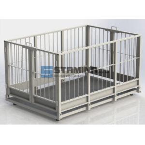 Весы для животных АКСИС 4BDU Х 1250х1250мм