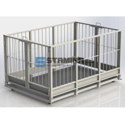 Весы для животных АКСИС 4BDU Х 1250х2000мм