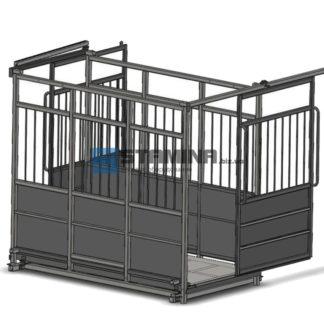 Весы для животных АКСИС 4BDU Х-P 1250х2000мм