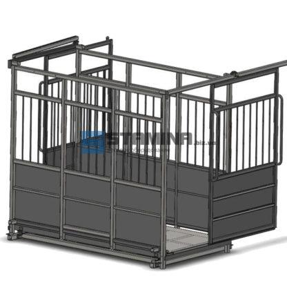 Весы для животных АКСИС 4BDU Х-P 1250х1500мм