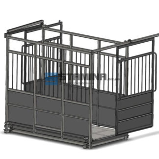 Весы для животных АКСИС 4BDU Х-P 2500х3500мм
