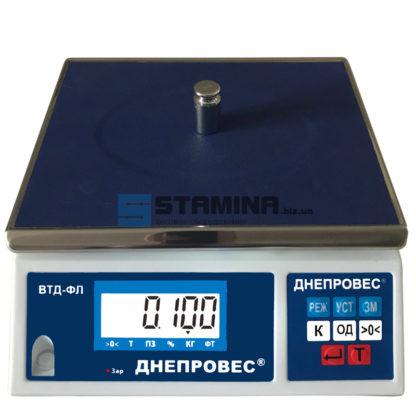 Фасовочные весы ВТД-3/0,1ФЛ