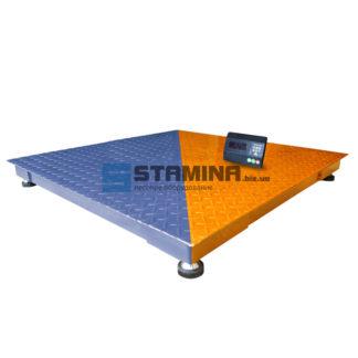 Платформенные весы Зевс ВПЕ Стандарт 1200х1200мм